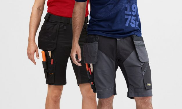 Snickers Workwear introduces stretch workwear shorts