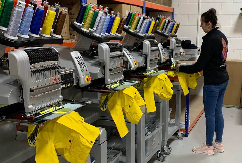 Shirt Monkey installs additional Melco embroidery machines