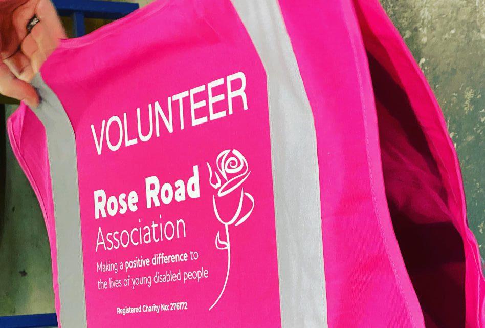 Rose Road Association hi-vis vests by Wessex Custom Clothing