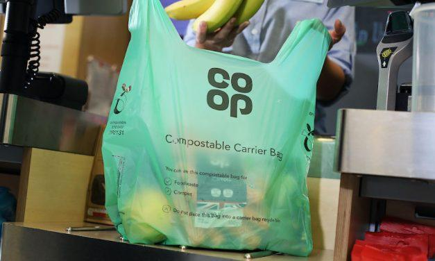 Co-op switches from plastic bags to compostable alternative