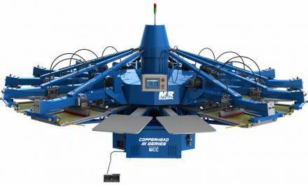 Screen Print World introduces M&R Copperhead Press range
