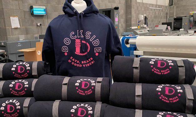 Dockside hoodies & blankets by Scribes Workwear Printing