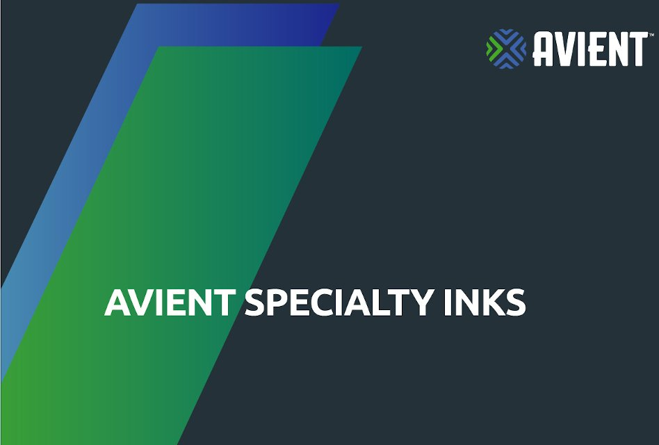 New Avient Specialty Inks brand