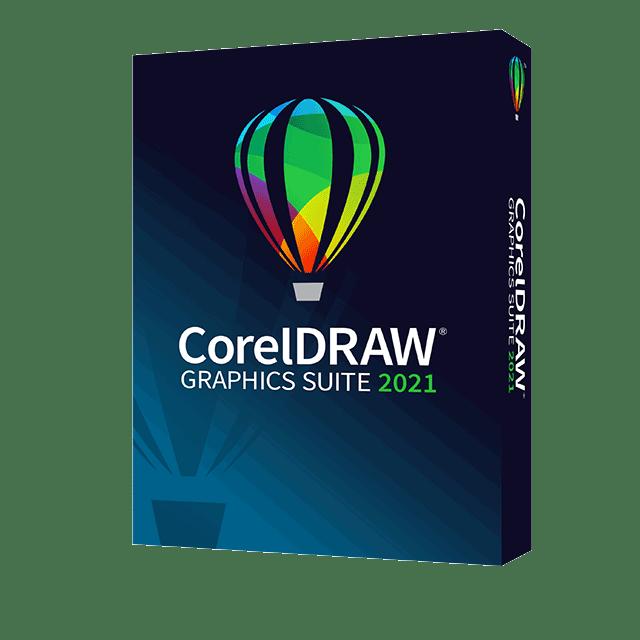 CorelDRAW Graphics Suite 2021 packaging