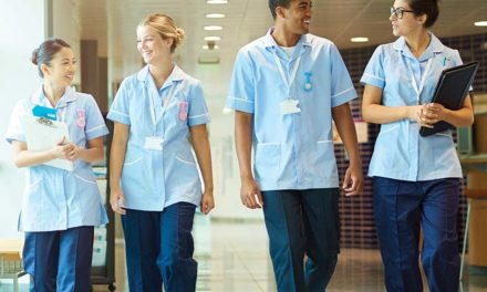 Alexandra follows Covid scrubs response by sponsoring nursing awards