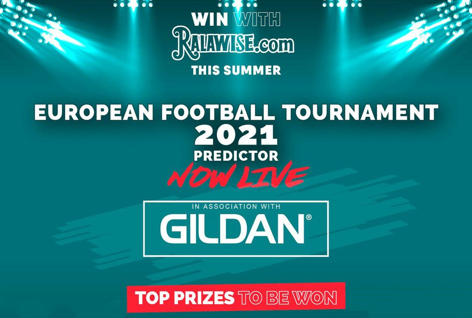 Ralawise offers prizes with Euro football tournament predictor game