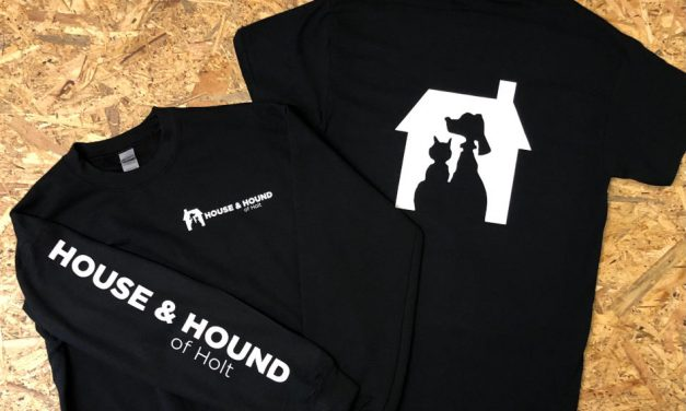 House and Hound of Holt workwear by Norwich Screen Art