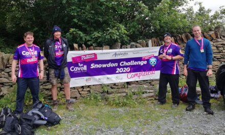 Alexandra takes on Snowdon Challenge for charity