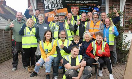 Regatta Professional partners charity Band of Builders