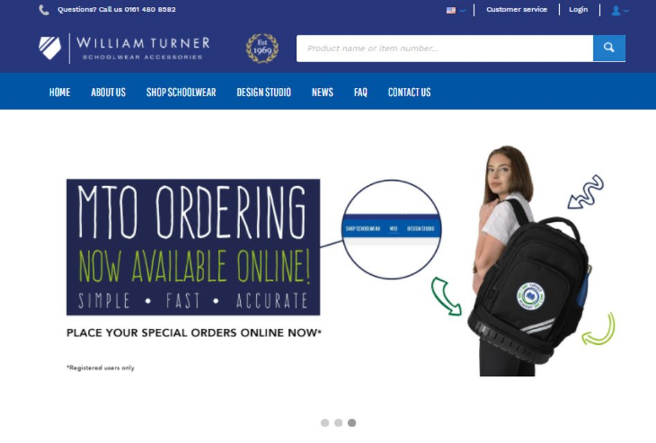 William Turner goes live with upgraded website