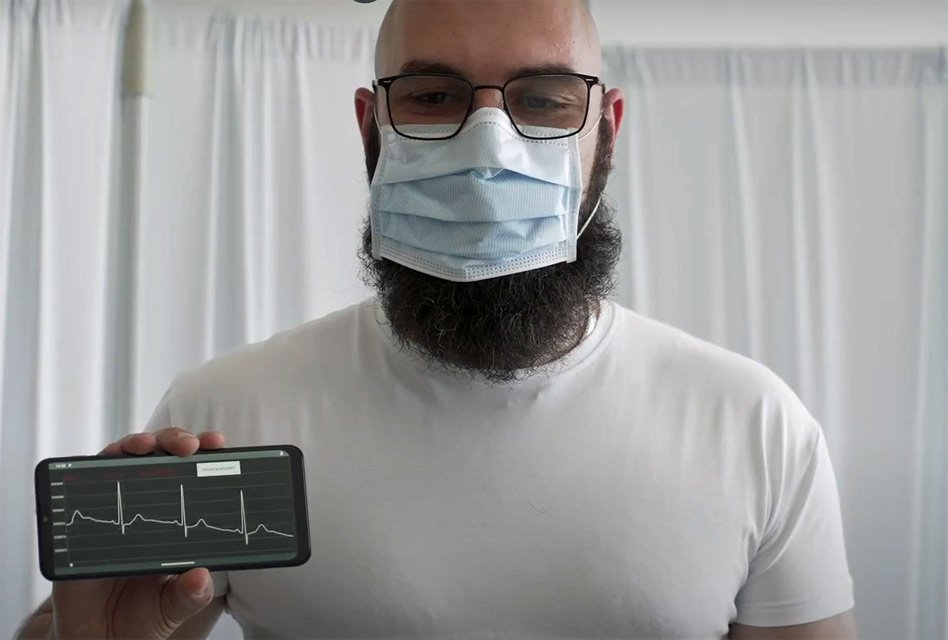T-shirt doubles as high-tech health monitor