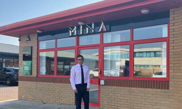 Mina becomes patron member of regional chamber