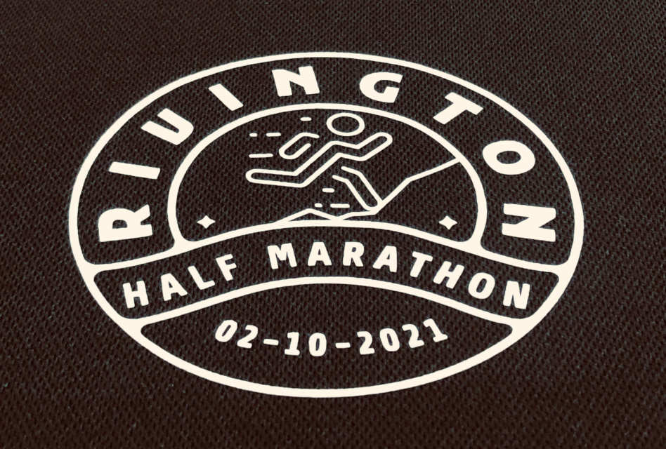 Rivington Half Marathon garments by Ribble Apparel