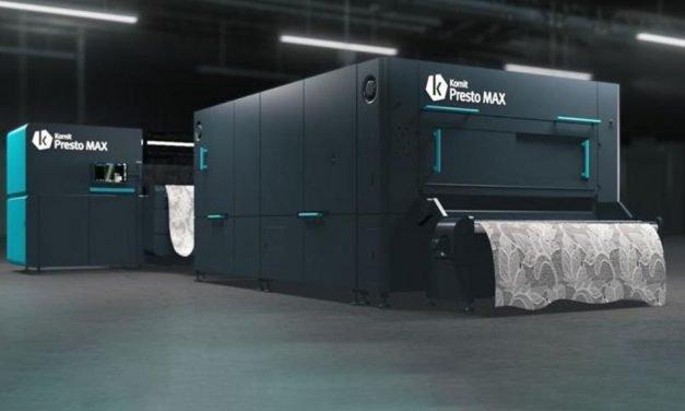 Kornit Digital to release Presto Max printer
