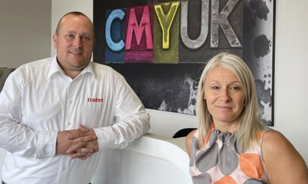 CMYUK forms partnership with Trotec Laser
